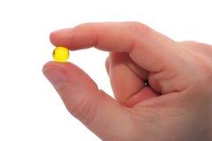 Mostra della pillola Fotografia Stock Libera da Diritti
