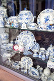 Mostra della porcellana di Meissen Fotografia Stock