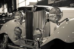 Mostra delle automobili antiche Immagini Stock Libere da Diritti