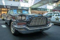 Mostra delle automobili rare di 40-70 anni fa a partire dallo XX secolo Fotografia Stock