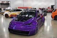 Mostra delle automobili su misura nel ` dell'Expo del croco del `, 2012 Immagini Stock
