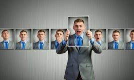 Mostra delle emozioni Fotografia Stock