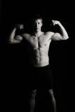 Mostra deun certo muscolo Fotografia Stock