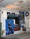 Mostra di arte contemporaneo a Mosca Immagine Stock Libera da Diritti