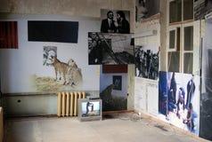 Mostra di arte contemporaneo a Mosca Fotografia Stock Libera da Diritti