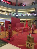 Mostra di Escada al centro commerciale del Dubai nel Dubai, UAE Immagini Stock