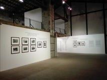Mostra di fotografia nel centro culturale di Ancona in Italia fotografie stock