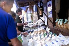 Mostra di pasta in Italia Fotografie Stock