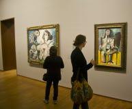 Mostra di Picasso della galleria di Albertina Fotografie Stock Libere da Diritti