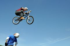 Mostra di trucco della bicicletta Fotografia Stock