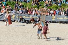 Mostra do aniversário de Roma Imagens de Stock Royalty Free