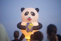 Mostra do balão de ar quente na mola de Harod Fotografia de Stock Royalty Free