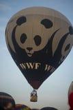Mostra do balão de ar quente na mola de Harod imagem de stock royalty free