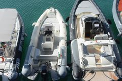 Mostra do barco de Genoa 57th foto de stock royalty free