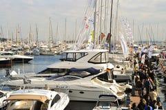 Mostra do barco de Istambul foto de stock royalty free