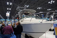 A mostra 2014 do barco de New York 151 Foto de Stock