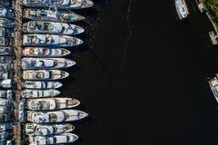 Mostra do barco do Fort Lauderdale Fotos de Stock