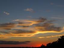 Mostra do céu do verão Fotos de Stock