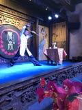 Mostra do chá em Sichuan Opera fotografia de stock