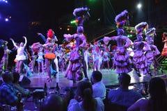 MOSTRA DO CLUBE NOCTURNO DE CUBA TROPICANA imagens de stock