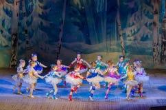 Mostra do conto do Natal Fotos de Stock