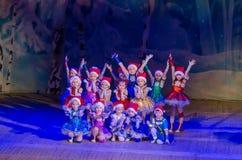 Mostra do conto do Natal Fotos de Stock Royalty Free