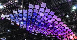 Mostra do efeito de TOA Light Fotos de Stock