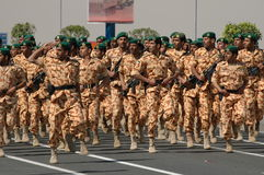 Mostra do exército de Kuwait imagem de stock royalty free