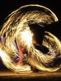 Mostra do fogo Imagem de Stock Royalty Free