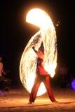 Mostra do fogo Imagens de Stock