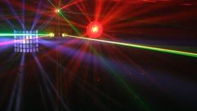 Mostra do laser vídeos de arquivo
