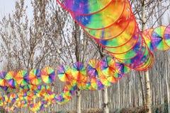 Mostra do moinho de vento imagem de stock royalty free