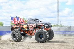 Mostra do monster truck fotografia de stock