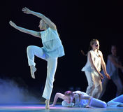 Mostra do teatro de dança das crianças Imagem de Stock