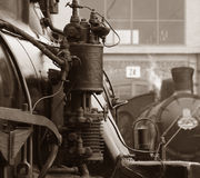 Mostra do trem do vapor Imagens de Stock Royalty Free