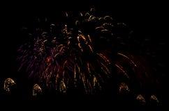 Mostra dos fogos-de-artifício Imagens de Stock Royalty Free