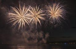 Mostra dos fogos-de-artifício Foto de Stock
