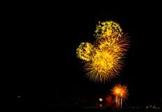 Mostra dos fogos-de-artifício Imagens de Stock
