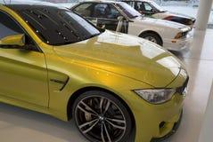 Mostra dos veículos elétricos de BMW Fotos de Stock