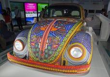 Mostra e visita virtuale sul Messico Parigi, il Parc de la Villette (Francia) da 4 al 22 luglio 2015 Qui, il Vochol immagini stock libere da diritti
