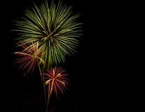 Mostra/Guy Fawkes Night dos fogos-de-artifício Fotos de Stock
