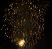 Mostra/Guy Fawkes Night dos fogos-de-artifício Fotos de Stock Royalty Free