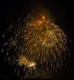 Mostra/Guy Fawkes Night dos fogos-de-artifício Fotografia de Stock Royalty Free