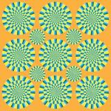 Mostra hipnótica da rotação Ilustração Royalty Free