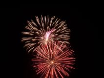 Mostra III dos fogos-de-artifício Foto de Stock