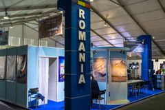 Mostra ILA Berlin Air Show 2018 Immagini Stock
