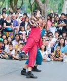 Mostra internacional da rua em Banguecoque 2010 Fotos de Stock