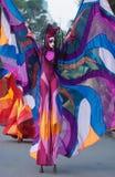 Mostra internacional da rua em Banguecoque, Tailândia Foto de Stock Royalty Free