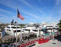 Mostra internacional do barco do Fort Lauderdale foto de stock royalty free