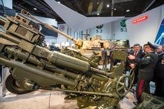 Mostra internazionale della difesa in Abu Dhabi Fotografie Stock